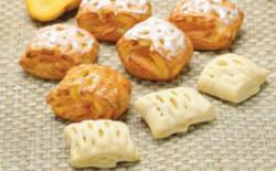 睿安原创 马来西亚原装进口 35g*140个芒果网格酥 预醒发冷冻面团