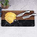 大理石芝士板 创新美观高档砧板 木头石头拼接菜板
