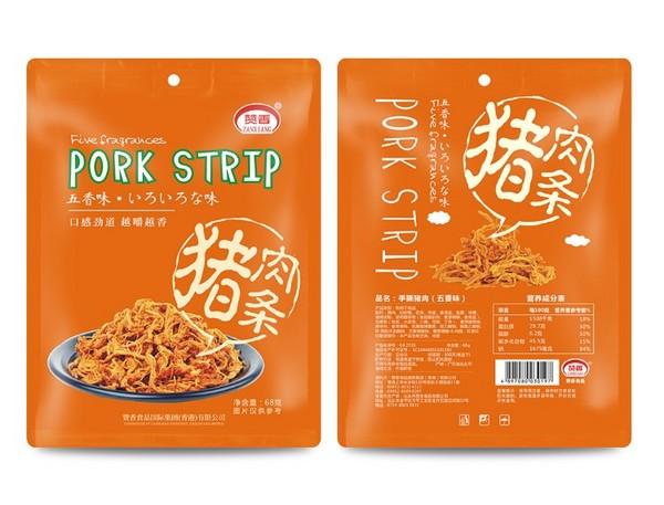 赞香68克手撕猪肉条