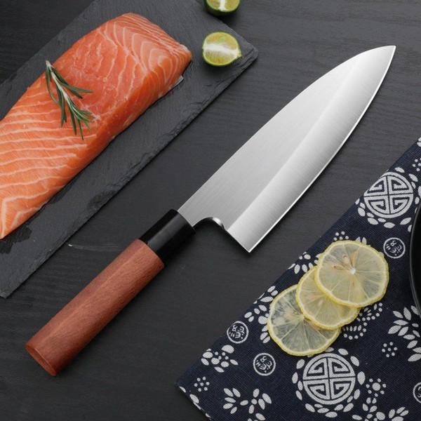 厨师专用杀鱼刀具出刃刀专业三文鱼料理剖鱼生刀刺身刀日式鱼头刀