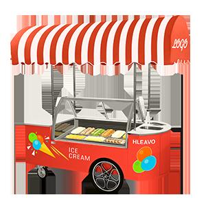 冰淇淋車艾米麗系列