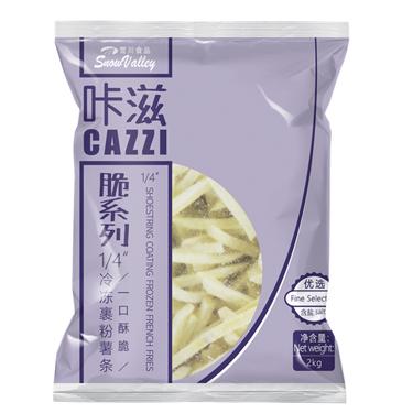 雪川-咔滋 · 优选1/4冷冻薯条2kg