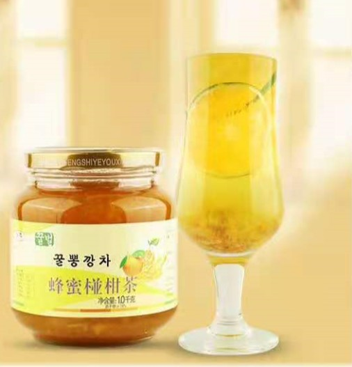 蜂蜜花果茶