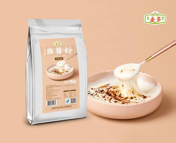 麻薯粉牛乳味