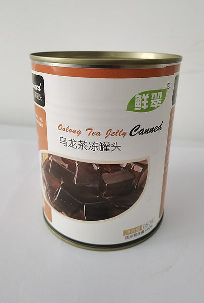 乌龙茶冻罐头