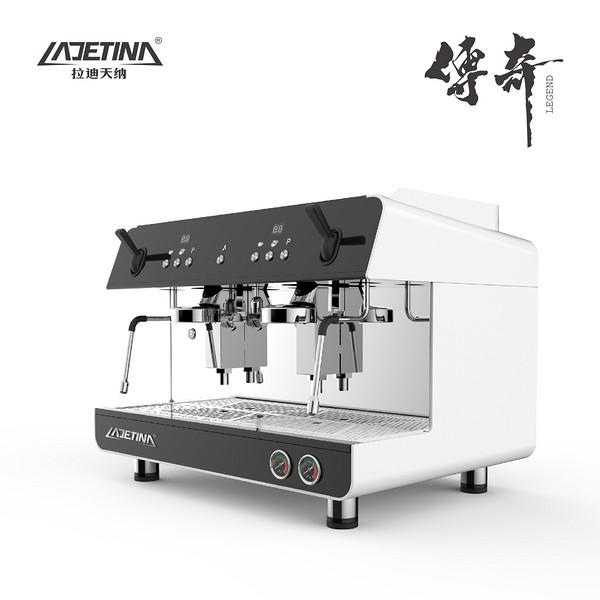 LADETINA传奇双头意式半自动咖啡机
