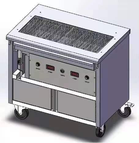 双组高温烧烤炉