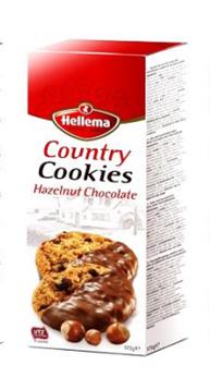 Country Cookies榛子巧克力饼干