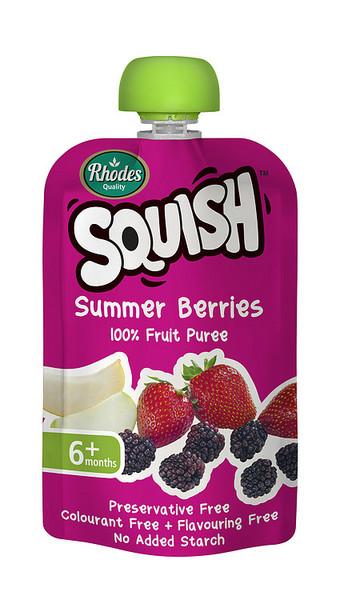 Squash婴儿食品 夏季浆果110毫升