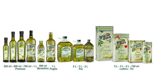 橄榄果渣油