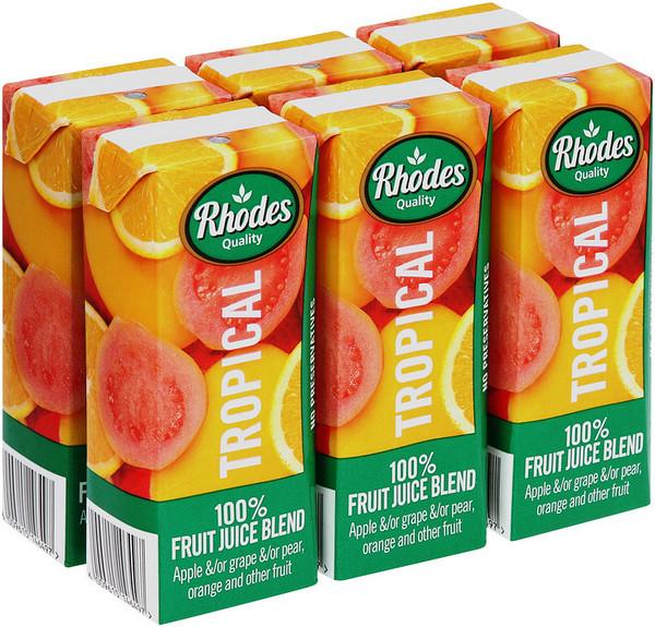 罗兹100%热带果汁,200毫升