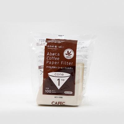 日本MOLA手冲咖啡滤纸 麻纤维 AC-01-100B