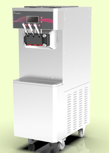 GP300F-AP立式意大利膨化泵冰淇淋机