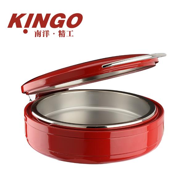 中国红圆形餐炉