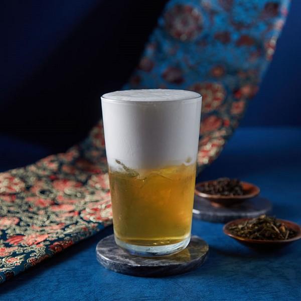 白胡子奶茶