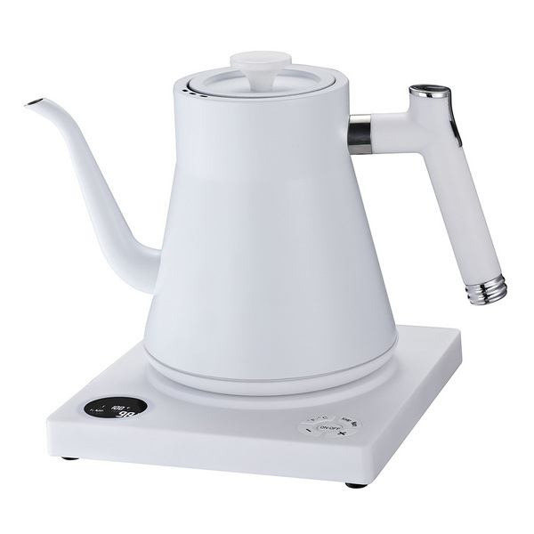 ELECTRICAL WATER BOILER W/PLATED COLOR 带温控电热水壶白色  C12811W