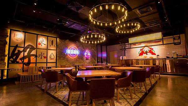 中餐火锅空间设计