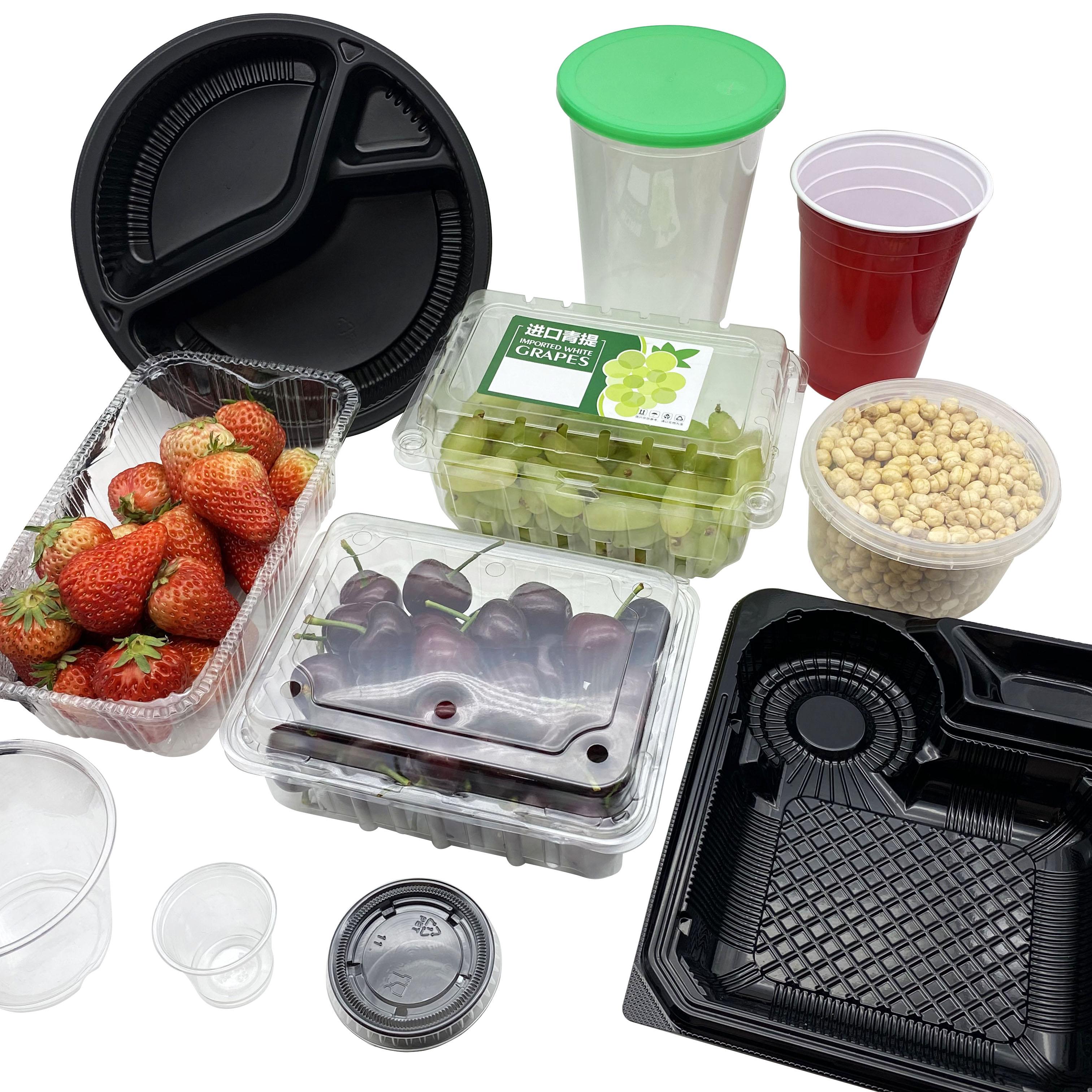 一次性打包多样餐盒果蔬盒保鲜盒