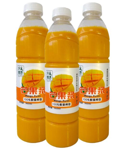 瓶装芒果浆