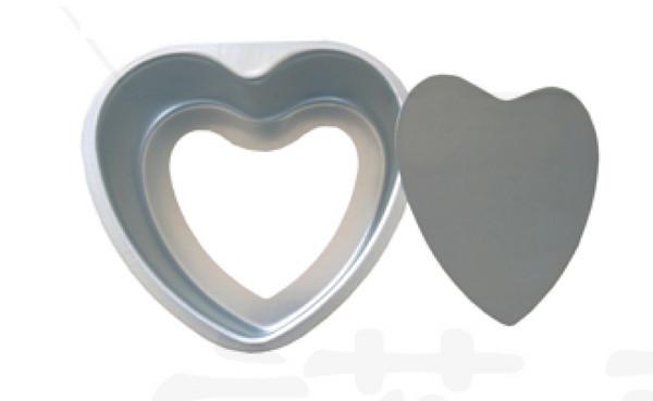 ALUM HEART-CAKE PAN铝心形蛋糕模 阳极氧化P10936-P10942,P10945-P10951