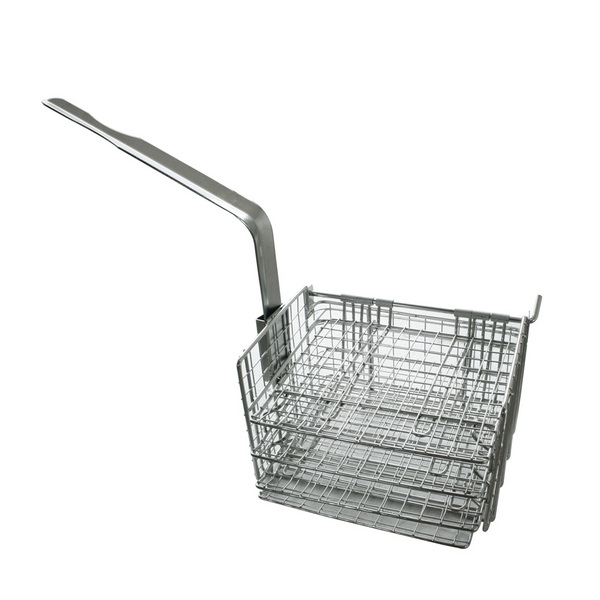 S/S FRY BASKET OF 4 LAYER MOVEING HANDLE可拆卸柄4层不锈钢炸篮J33356S-J33358S