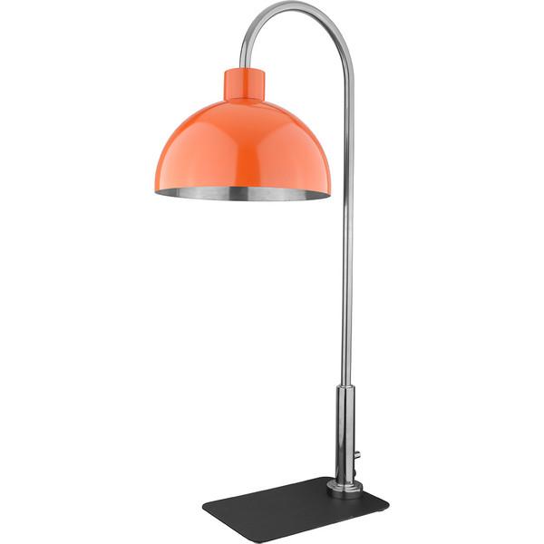 A11864G-A11865G 黑色板座(镀金)红钢半圆暖菜灯