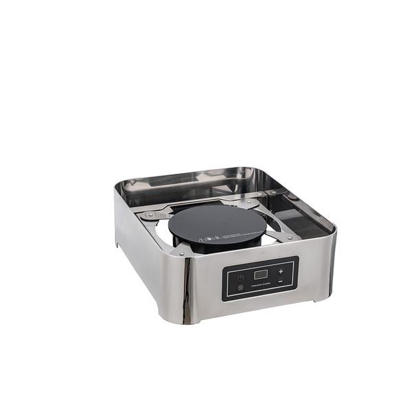 A10101ESB-A10105ESB  1/1-2/3-1/2方型阻尼钢盖高级电餐炉下座(带电磁炉)
