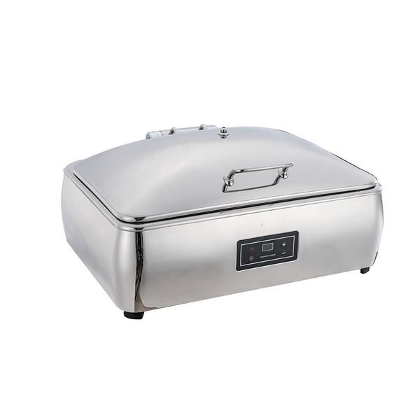 A11131ES-A11136ES 1/1-2/3-1/2 方型阻尼缓冲式钢盖高级电餐炉