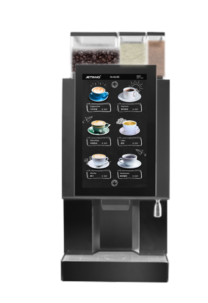 技诺JL18 自助现磨咖啡机 适合办公室 商务中心接待区