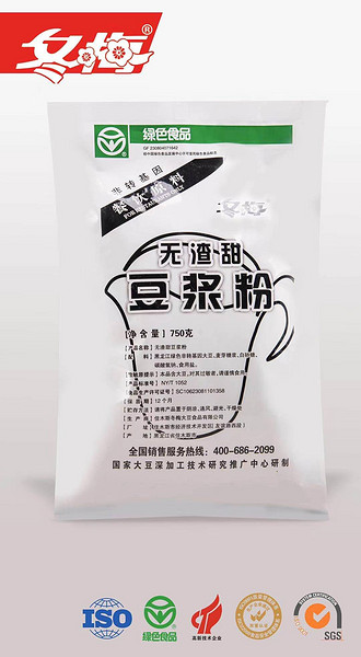 无渣甜豆浆粉
