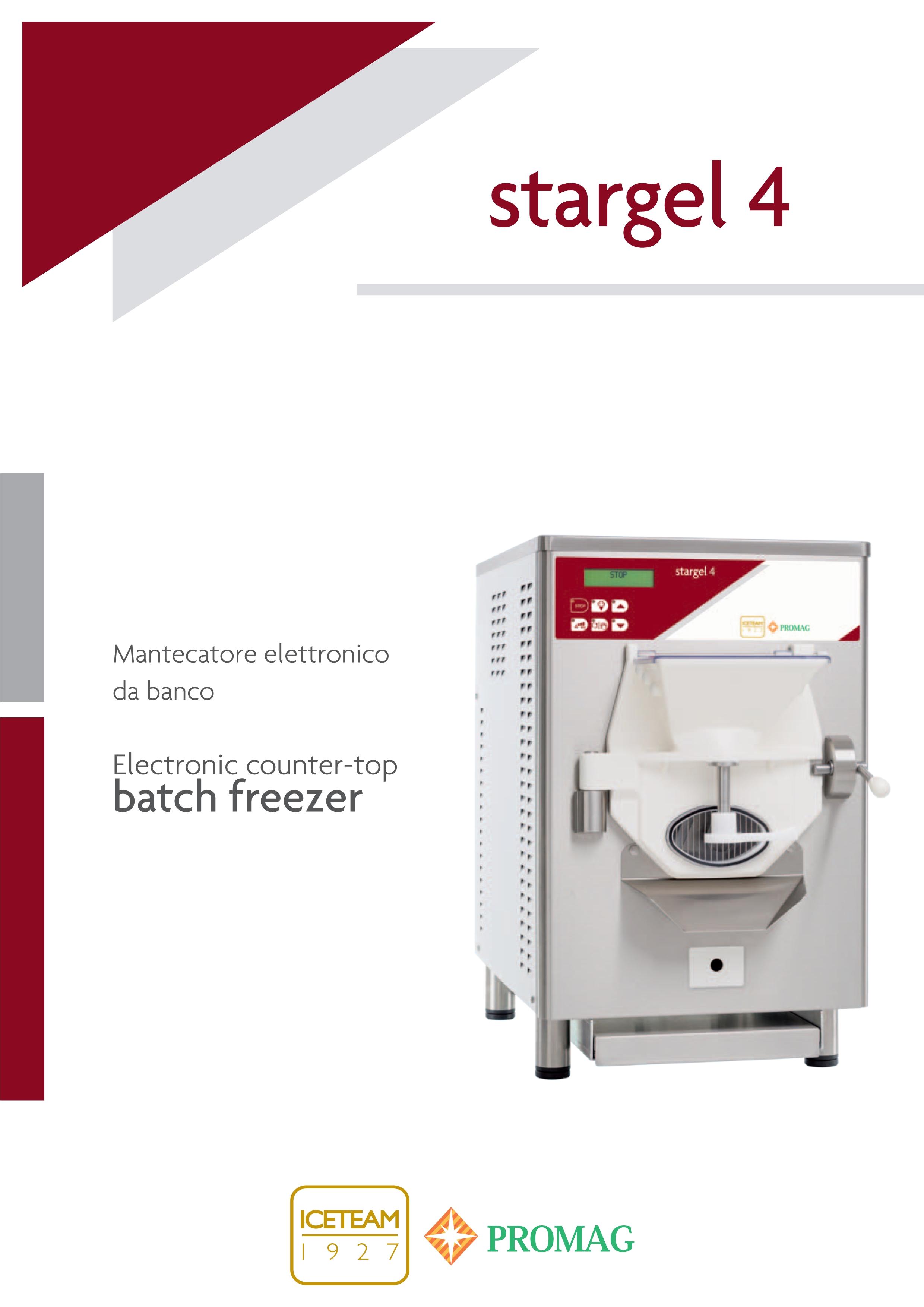 意大利冰淇淋机Stargel 4