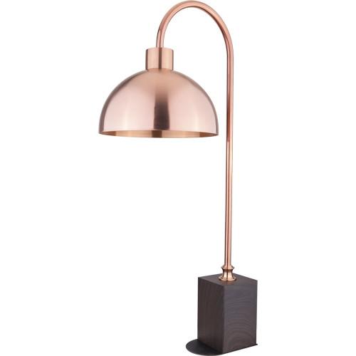 A11850-A11855G 木纹方座精钻/锤印半圆暖菜灯