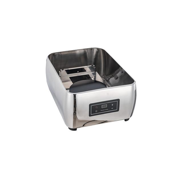 1/1-2/3-1/2 方型阻尼缓冲式钢盖高级电餐炉下座(带电磁炉)