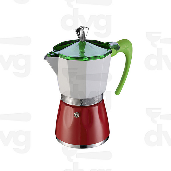 三色咖啡壶