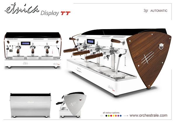 Etnica display TT 3gr 全自动咖啡机