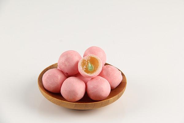 佰津利昇珍珠奶茶糖抹茶味夹心软糖果