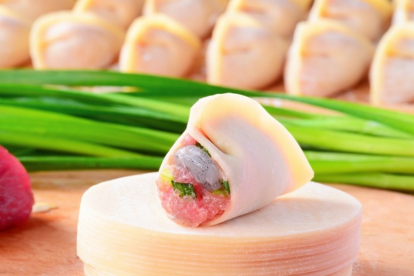韭菜虾仁鲜肉饺