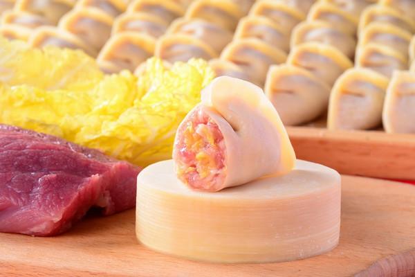 白菜鲜肉饺