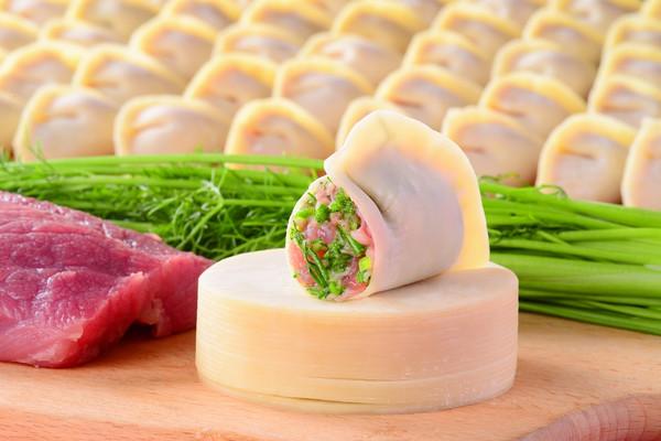 茴香鲜肉饺