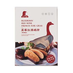 五森蓝莓红酒鹅肝切片200g