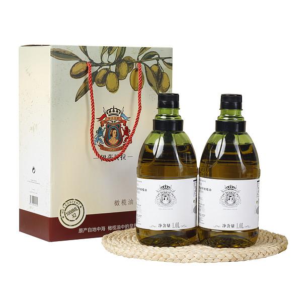 特级初榨橄榄油1L礼盒