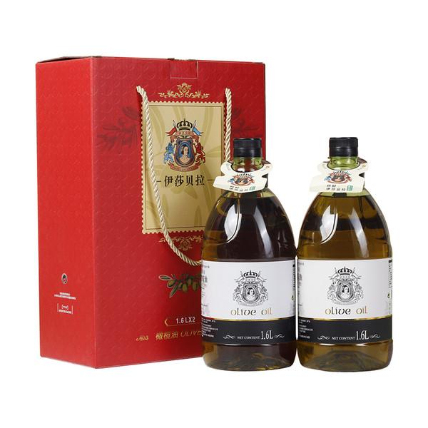 纯正初榨橄榄油1.6L礼盒
