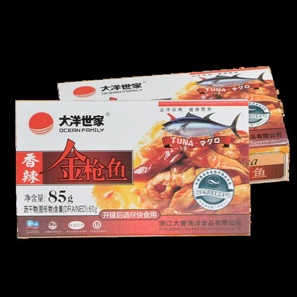 香辣金枪鱼85g