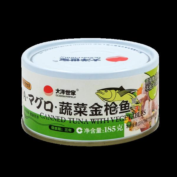 蔬菜金枪鱼185g