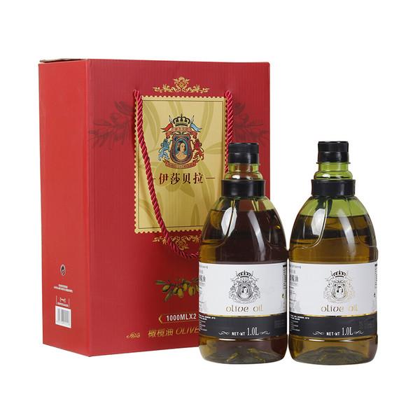 纯正初榨橄榄油1L礼盒