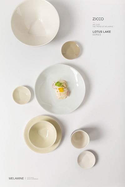 莲花湖系列   密胺餐具
