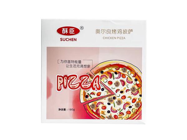 奥尔良烤鸡披萨