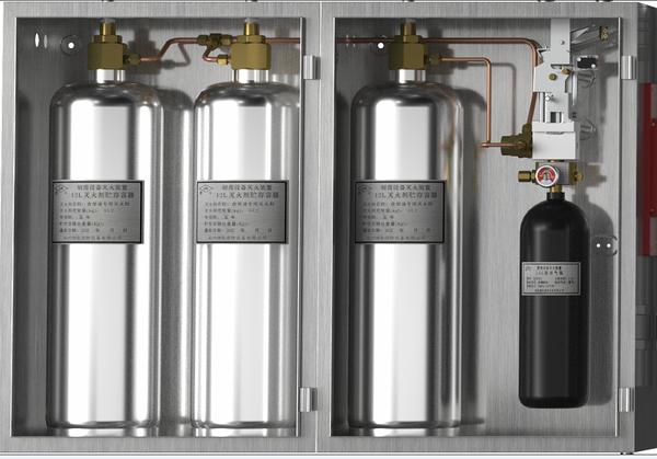 CMJS34-3-JA型厨房设备灭火装置叁瓶组系统