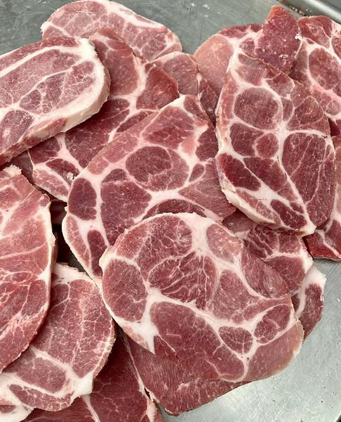 4311厂白猪猪颈肉