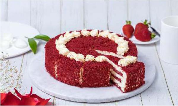 恬新阁红丝绒蛋糕